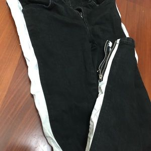 ZARA SIDE STRIPE JEANS BRAND NEW